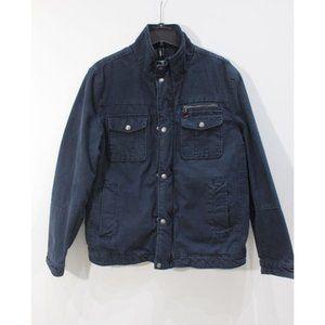 Mens large Levi's Jacket Cargo Style full zip fill